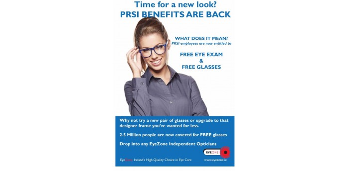Free Eye Exam and Glasses